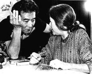 Hilda-e-Massao-no-lançamento-de